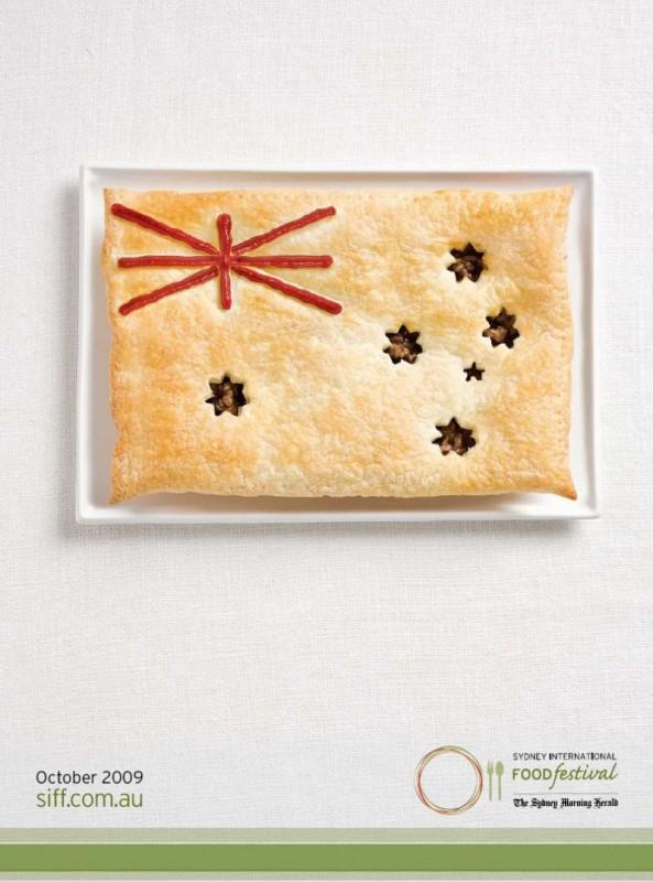 Съедобные флаги