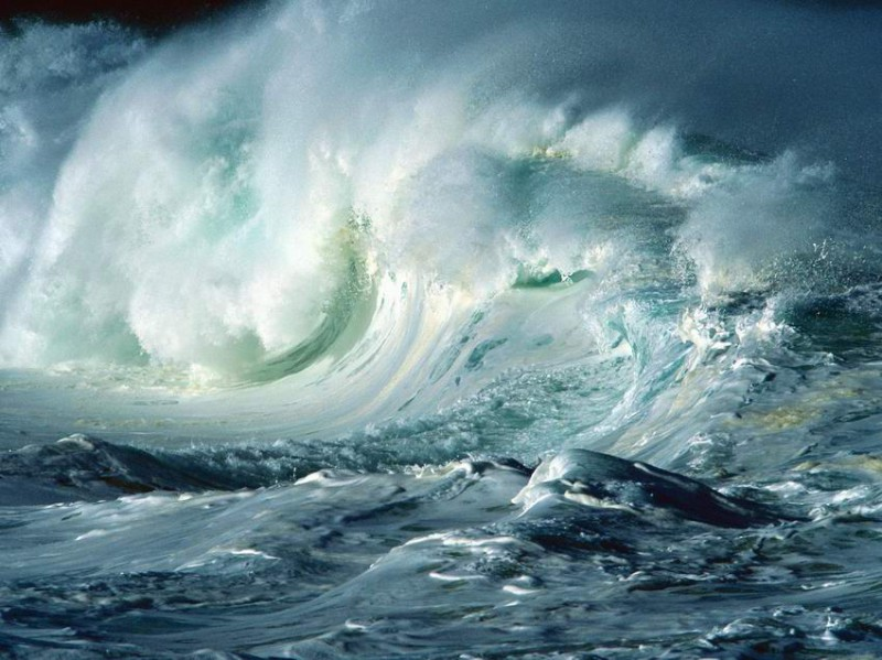 Волны (19 фотографий)