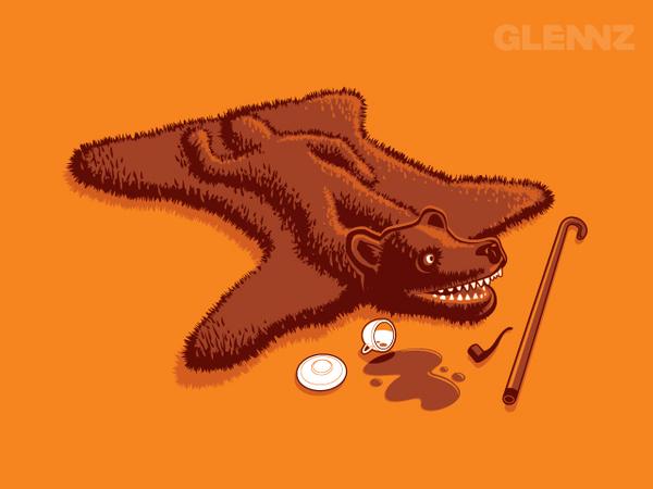 Смешно!... рисунки от Glenn Jones (55 фото - 6.44Mb)