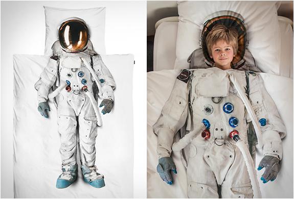 Оригинальное постельное белье Астронавт