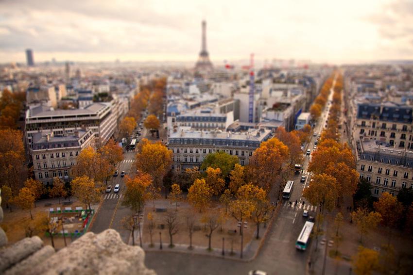 Большой город в миниатюре