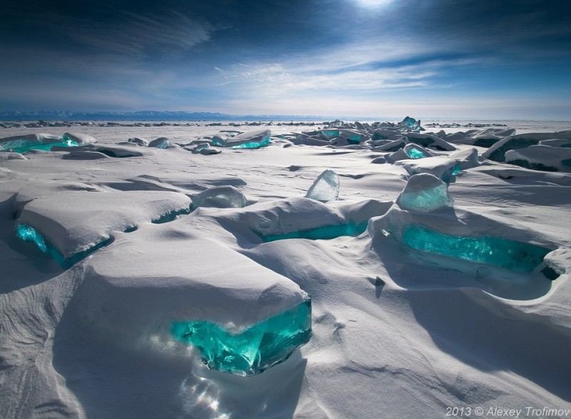 Байкальские изумруды / Фото дня