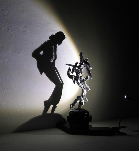 Необыкновенные теневые скульптуры Даета Виегманна