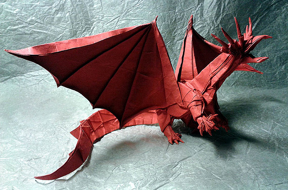Искусство оригами от Ярослав Мищенко