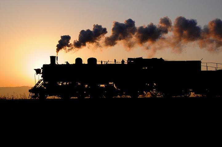 Ностальгия по путешествиям в фотографиях поездов