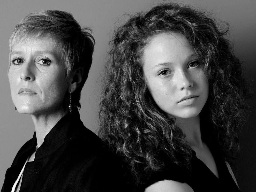 Портреты моделей и их матерей