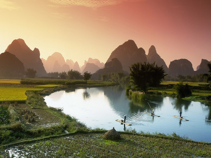 Fishing on the Li River