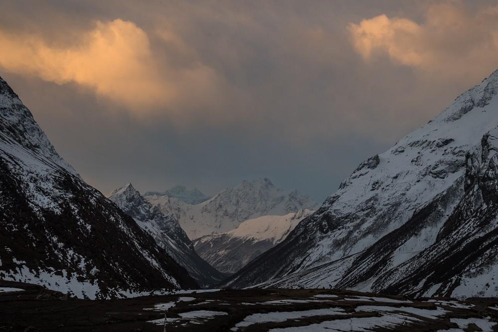 На публикации самые высокие горы