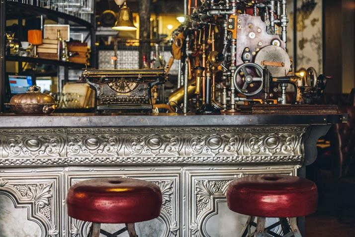 Стимпанк-кофе-бар