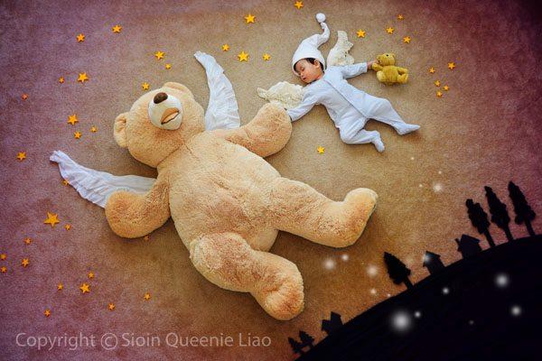 Приключения для спящего сына