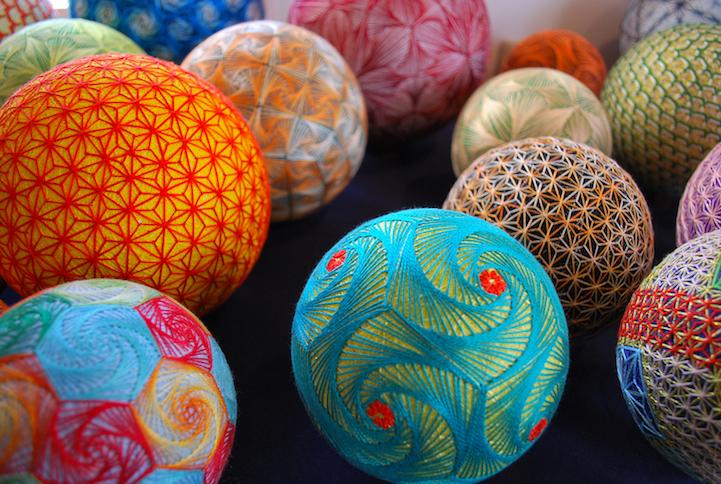 Удивительные шары темари