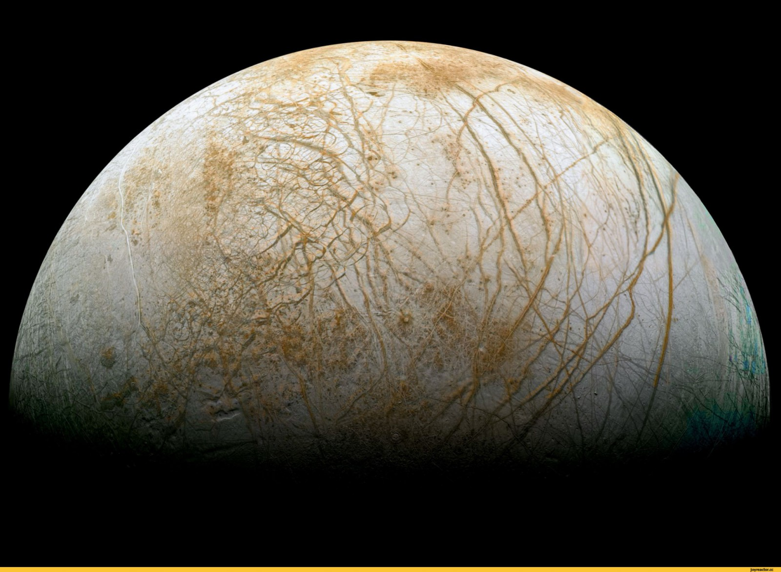 Снимок Луны Юпитера / Фото дня