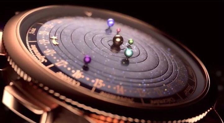 Часть Солнечной системы на твоей руке