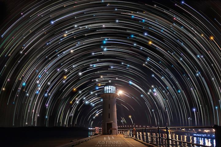 Эффектные фотографии звездного неба