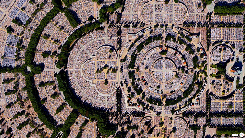 our-lady-of-almudena-cemetary-from-above-aerial-satellite