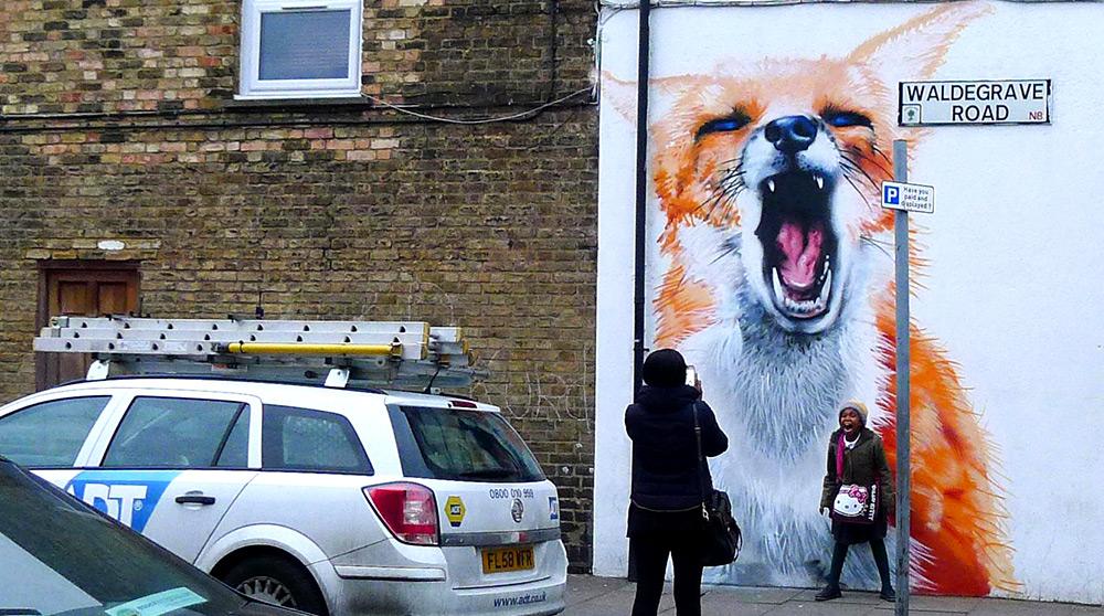 Огромные животные на улицах Лондона
