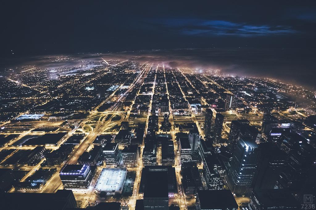 Чикаго в тумане Майкла Солсбери