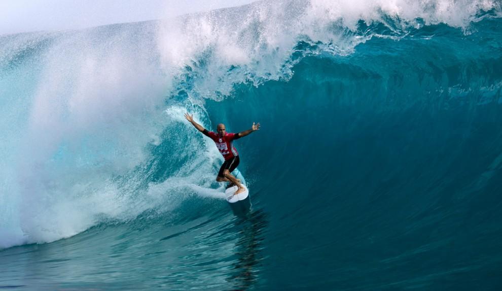 Чемпионат мира по серфингу и 27 секунд под волной