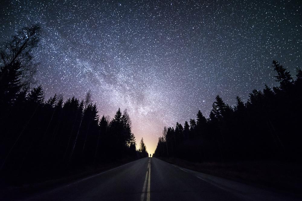 Звездные пейзажи Финляндии