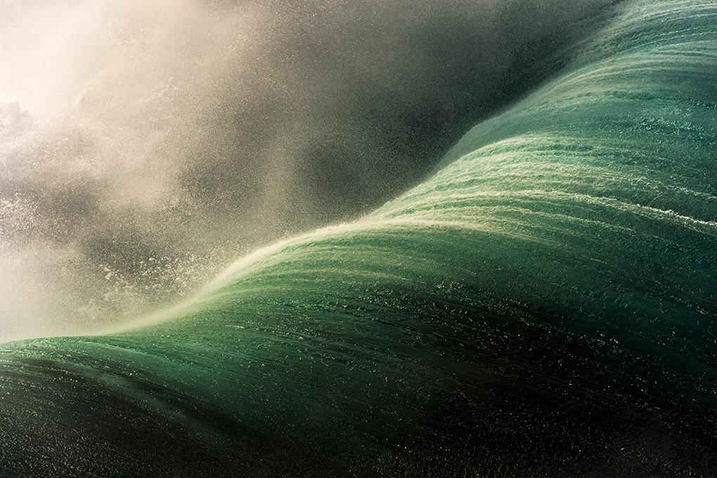 Морские волны в объективе Рэйя Коллинза