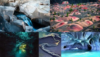 15 инопланетных пейзажей на Земле
