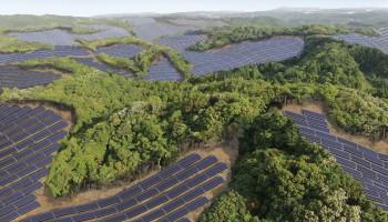 Солнечные электростанции на полях для гольфа