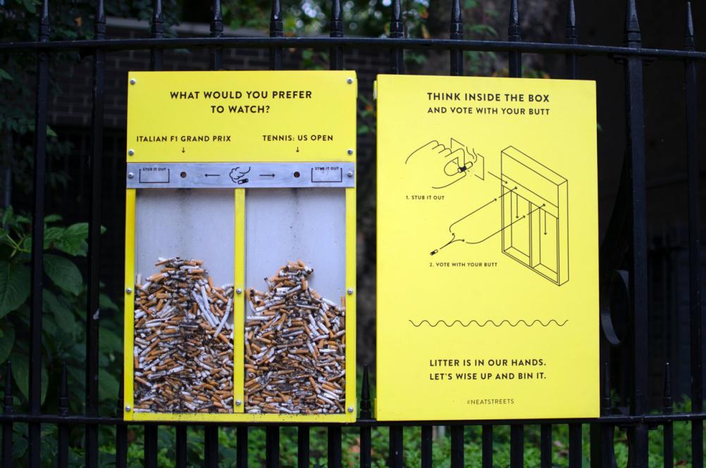 Нетипичный способ собрать мусор