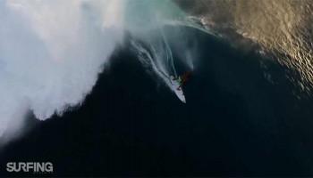 Серфинг на Теахупу