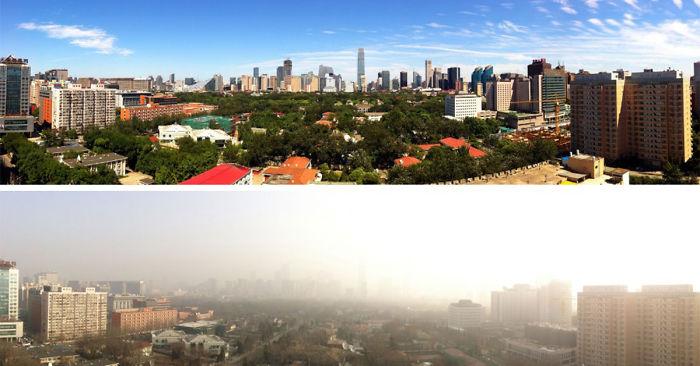 День без машин в Пекине