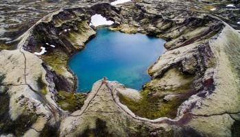 Воздушный тур по Исландии