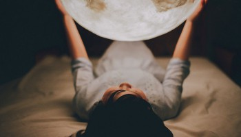 Луна как светильник