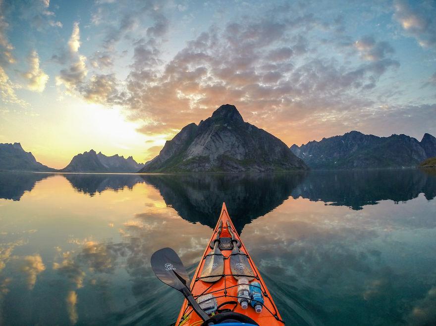 На байдарке по фьордам Норвегии