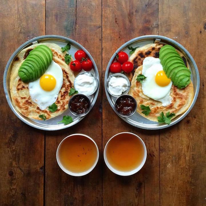 Симметричный завтрак каждый день
