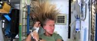 Как космонавты моют голову?